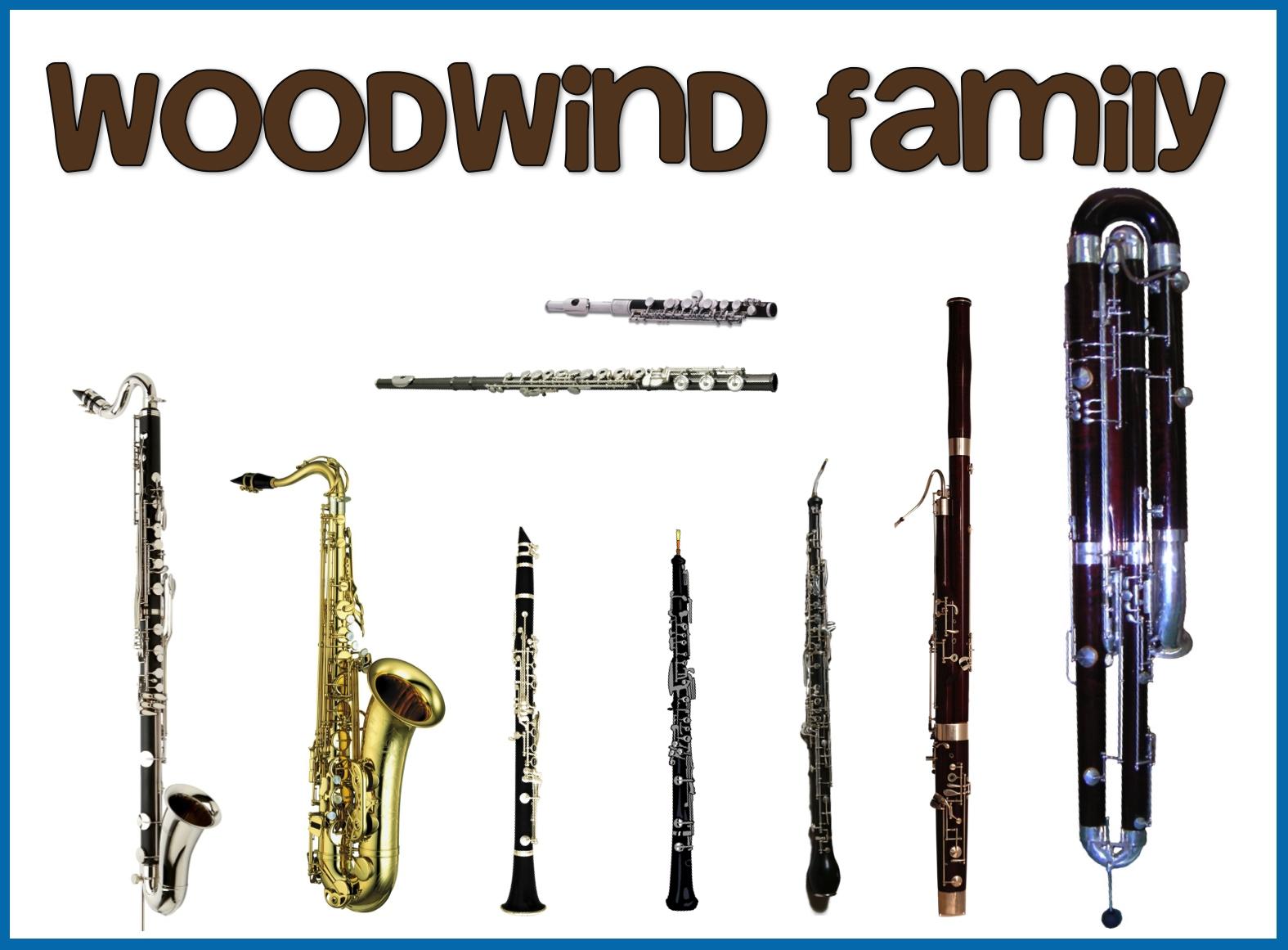 Woodwinds Woodwind Band Instruments
